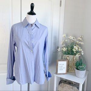 *FLAWED* Moda International Stripe Button Up Shirt